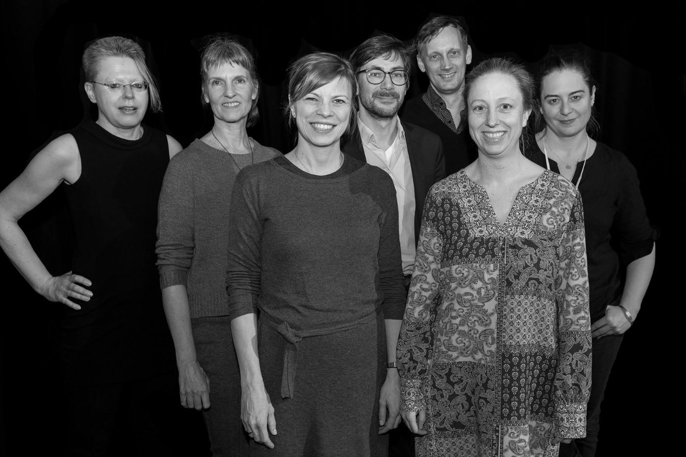 v.l.n.r.: K. Bieligk, K. Kirchhoff, B.A. Schmutz, U. Gössel, H. Wolff, D. Hartmann, K. Grübmeyer Foto: Ali Ghandtschi